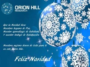 Feliz Navidad OHR